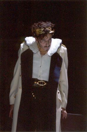 als Nerone in Monteverdis Krönung der Poppea
