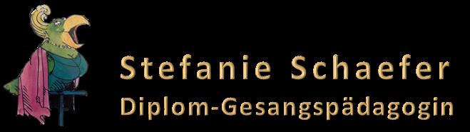 Stefanie Schaefer - Mezzosopranistin